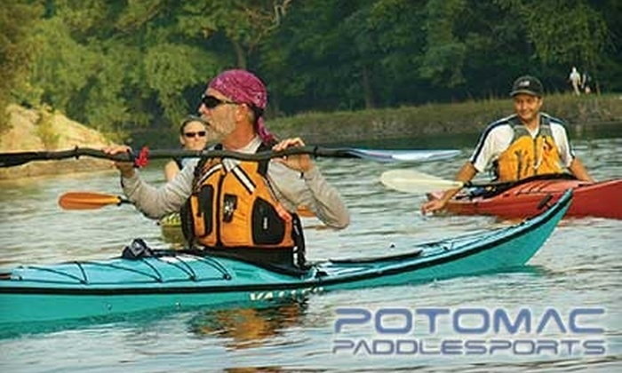 Potomac Paddlesports - North Bethesda: $147 for a Sea Kayak Starter Lesson Package with Potomac Paddlesports