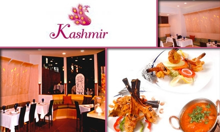 Kashmir - Back Bay: $15 for $35 Worth of Indian Cuisine at Kashmir