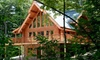 Half Off Luxury Log Cabin Stay in Mont-Tremblant