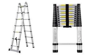 Uitschuifbare ladders tot 4.40 m