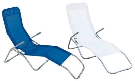 Sedia a sdraio Formentera disponibile in 2 colori