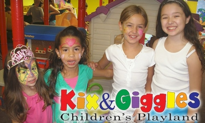 Kix and Giggles - Bustleton: $30 for Ten Walk-in Play Sessions at Kix and Giggles