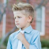 Future Trillionaire Boys' Shirt and Tie Set