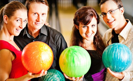 Bowling Outing for up to Five Players - Continental Lanes in Roseville