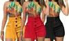 Women's Lace-Up Tie Shorts
