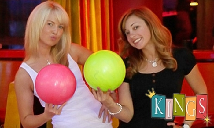 Kings - Multiple Locations: Children's or Adult Summer Bowling Pass to Kings. Four Options Available.