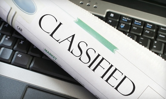 The Big Ads - Hartford: $10 for a Three-Month Classified Ad from The Big Ads ($45 value)