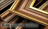 Row House Gallery - Milford: $40 for $100 Worth of Custom Framing at Row House Gallery & Custom Framing