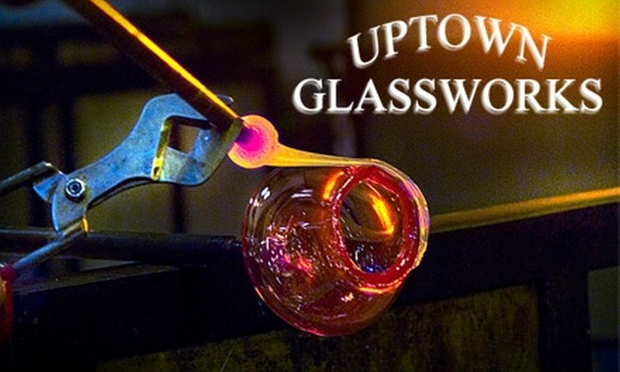 Uptown Glassworks - Renton: $20 for Blow-Your-Own-Glass Session at Uptown Glassworks in Renton (Up to $40.73 Value)