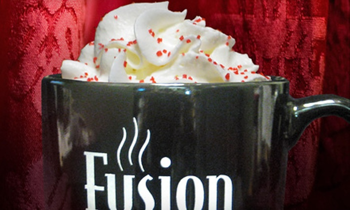 Fusion Coffeehouse - Ridgeland: Lattes and Lunch for One or Two or Café Fare at Fusion Coffeehouse