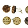 Up to 53% Off Custom Wood Cufflinks