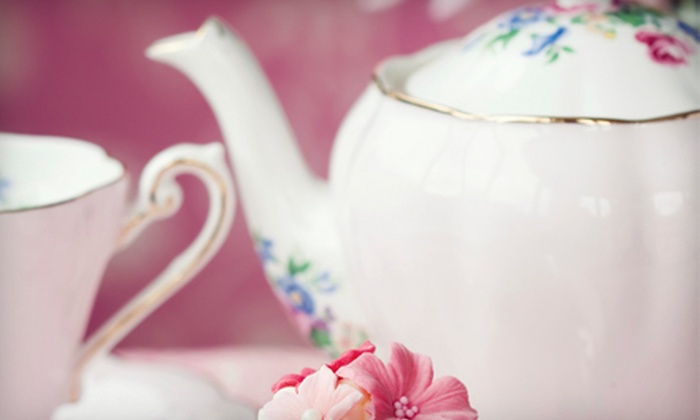 Aggie's Closet and Tea Room - O'Fallon: Traditional English Tea for Two or Four at Aggie's Closet and Tea Room in O'Fallon (Up to 52% Off)