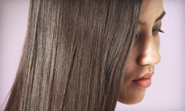 Studio Glam Salon & Vela Spa - Jeffersonville: $149 For a California Smooth Keratin Treatment at Studio Glam Salon & Vela Spa in Jeffersonville