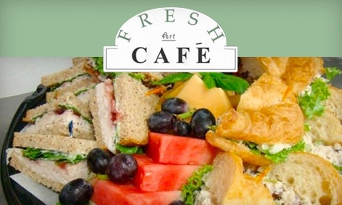 Fresh Art Café - Hoover: $5 for $10 Worth of Sandwiches, Salads, and Drinks at Fresh Art Café in Hoover
