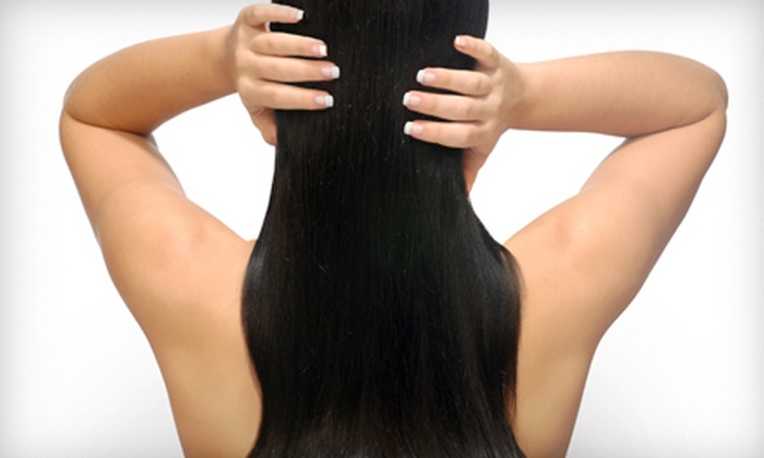 The Glam Specialist - Maryville: One or Two Shellac Manicures or Hair-Smoothing Keratin Treatment at The Glam Specialist in Maryville (Up to 74% Off). Three Options Available.