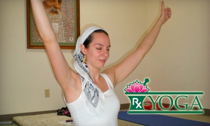 RX-Yoga - Ward 2: $25 for Six-Class Yoga Punch Card from RX-Yoga ($54 Value)
