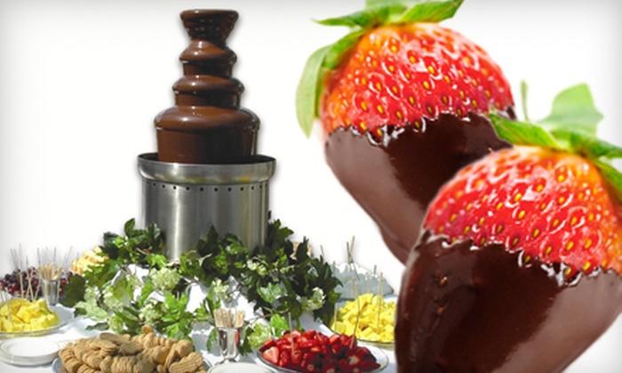 Santa Barbara Chocolate Fountains - Santa Barbara: Chocolate-Fountain Rentals for Up to 100 or 200 People from Santa Barbara Chocolate Fountains (Up to 59% Off)