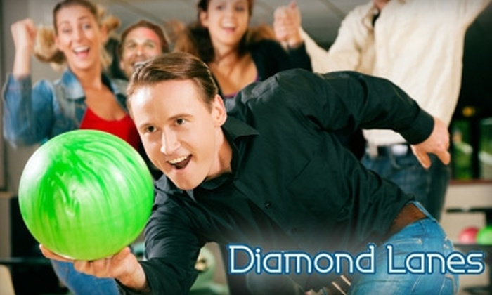 Diamond Lanes - Odessa: $20 for Two Games and Shoe Rentals for Four People at Diamond Lanes