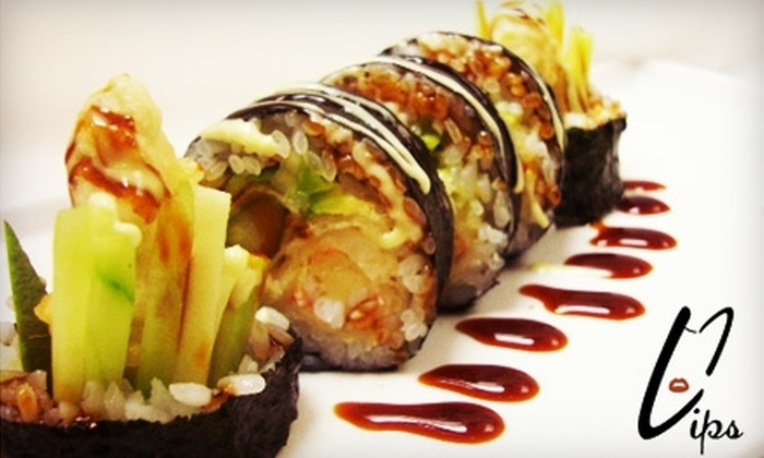 Lips Asian Bistro & Sushi Bar - Lakeview: $15 for $30 Worth of Asian Fare at Lips Asian Bistro & Sushi Bar