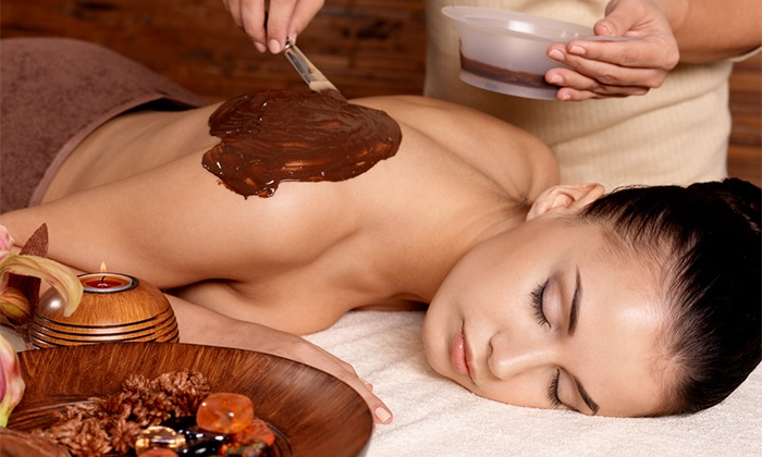 Dreamcatcher Day Spa - Sherman Place: Chocolate Indulgence Massage or Champagne-and-Rose-Petal Body Treatment at Dreamcatcher Day Spa (Up to 51% Off)