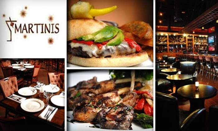 Martinis - Peccole Ranch: $15 for $35 Worth of Meals and Libations at Martinis