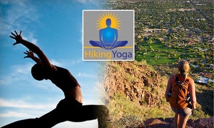 Hiking Yoga - Multiple Locations: Cardio-Oriented Yoga Classes at Hiking Yoga. Choose from Two Options.