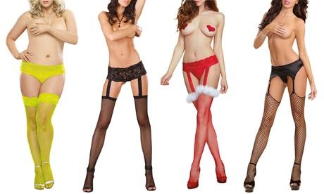 Dreamgirl Women's Panty Hose or Garter Stockings ae8f9efe-5dc4-11e7-a6a7-00259060b5da