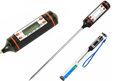One or Two Digital Food Thermometers