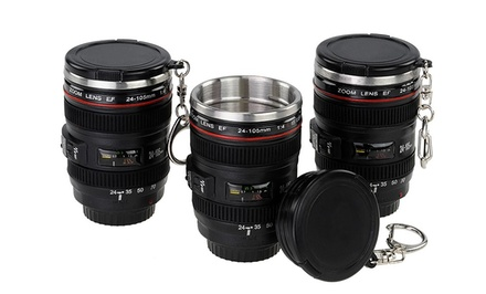 Set of 3 Mini-Camera-Lens Shot Glasses