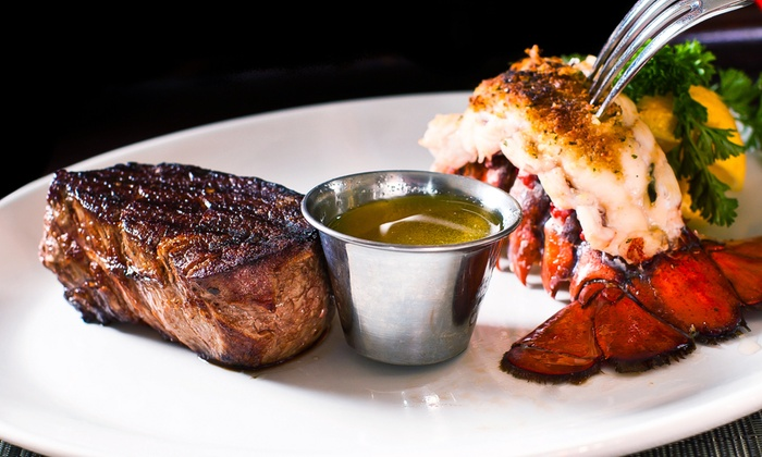 Cafe West - Trenton: Seafood and Steaks for Dinner or Lunch at Cafe West (Up to 45% Off). Three Options Available.