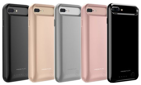 PRESS PLAY Extended Battery Case for iPhone 6/6s, 6/6s Plus, 7, 7 Plus