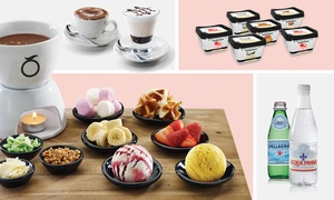 Mövenpick Ice Cream: Fondue, Hot Drinks and Ice Cream for Two ($39) or Four People ($49) at Mövenpick, Sydney CBD (Up to $104.75 value)