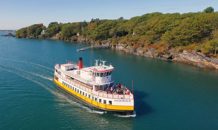 Save up to 45% on Bailey Island Cruise for Two or Four with Casco Bay Lines