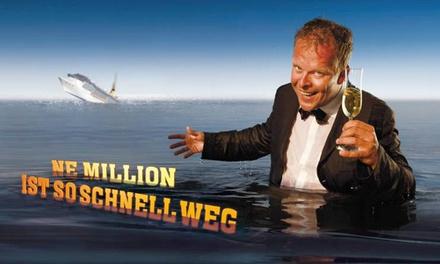 """Karsten Kaie """"Ne Million ist so schnell weg"""" im Nov., Dez. 2016 und Feb. 2017 im Admiralspalast Berlin (bis 45% sparen)"""