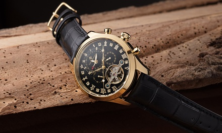 Mens Theorema Damascus Automatic Watch