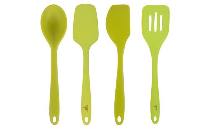Core Kitchen Silicone Utensil Set (4-Piece) | Groupon