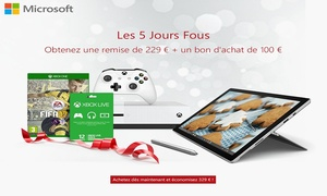 Microsoft: 5 dolle dagen bij Microsoft. Geniet van exclusieve kortingen. Bespaar 329€