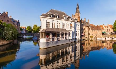 Brugge: comfort kamer voor twee óf familiekamer voor vier personen incl. ontbijt in Green Park Hotel Brugge