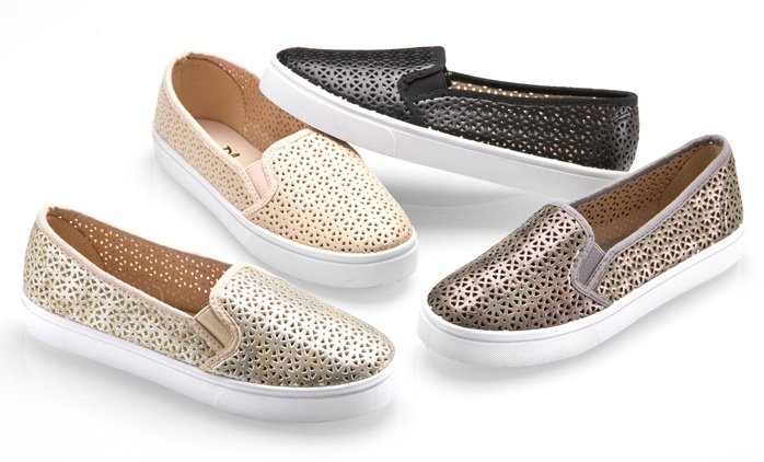Olive Street Women's Twin Gore Loafer| Groupon Exclusive