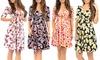 SunFlower Women's Knee-Length Wrap Dress