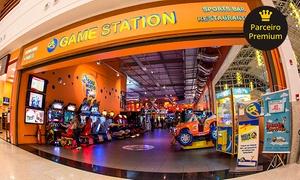Game Station - 21 Unidades: 1h ou 4h de diversão (opção com R$15 de crédito) no Game Station – 21 endereços