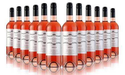 12 Bottles of Rose Valdeoliva Tempranillo