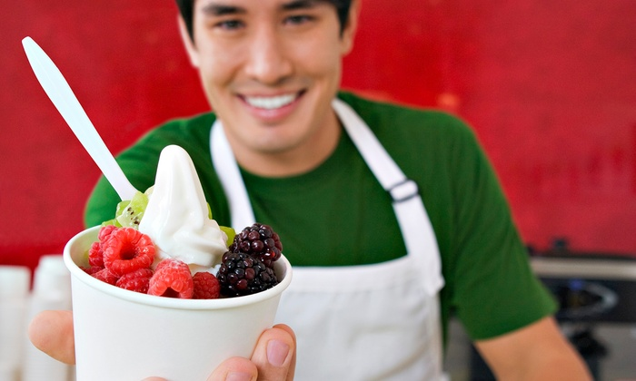 Crave Frozen Yogurt - Fairfax - Fairfax: $9.99 for Three Groupons, Each Good for $6 Worth of Frozen Yogurt at Crave Frozen Yogurt ($18 Total Value)