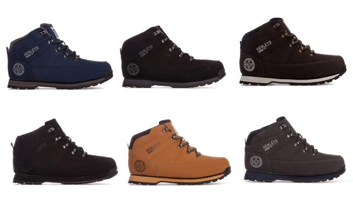 Men's Henleys Oakland Hiker Boots From £19.99