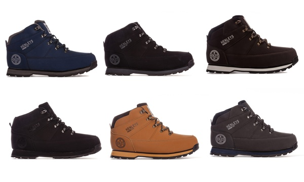 henleys mens oakland boots