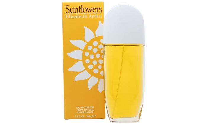Groupon Goods Global GmbH: Eau de Toilette Elizabeth Arden Sunflowers 100ml pour femme