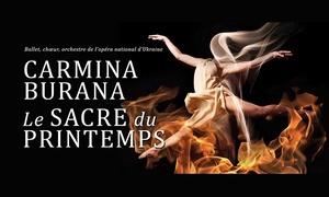 BEL3 asbl: Une place pour le spectacle Carmina Burana le 23 mars 2017 au Palais des Bozar de Bruxelles dès 27,99 €