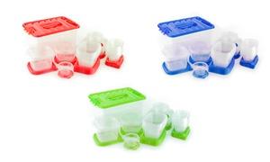 Plastic Storage Container Set with Storage Case (54-Piece)
