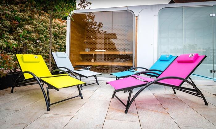 bain de soleil pliable o 39 colors groupon. Black Bedroom Furniture Sets. Home Design Ideas