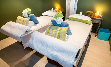 60Minute Massage + 10Minute Foot Soak $65 or 2 People $125 at Bondi Thai Massage and Spa Up to 211$ Value